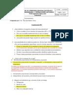 Cuestionario Preparación Evaluación N°2