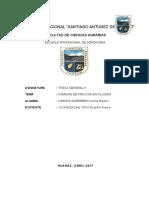 Informe  (fisica II) friccion de fluidos