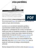 Anexo:Navíos perdidos - Wikipedia, la enciclopedia libre