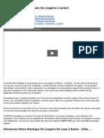 204801Idées Décoration Pour Boutique Lingerie - Stickers Vitrines