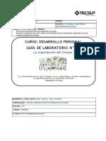 Guía Laboratorio 2 Organización del tiempo-1-