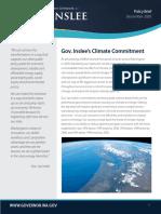 Governor Inslee - Climate Brief - December 2020
