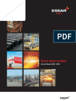 essar steel ltd (annual report)
