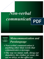non-verbal commn