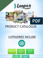 Longrich Products Catalogue