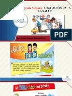 SEGUNDA SEMANA - EDUCACION PARA SALUD..pptx