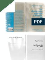 267228261 Prior Olmos Angel Los Manuscritos de Economia y Filosofia de Karl Marx Alianza Ed 1998