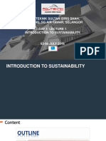 PolyTech GreenTech Lecture 1 Introduction to Sustainability 180701
