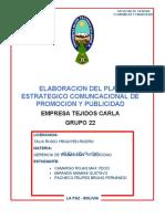 Tejidos Carla - Grupo 22