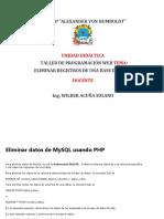 ELIMINAR REGISTROS DE UNA BASE DE DATOS1