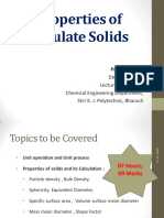 Chapter 1 Properties of Particulate solids