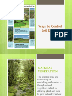 Ways to Control Soil Erosion