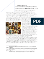 review of willimons - why jesus