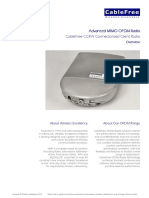 CableFree OFDM CCR-N Datasheet