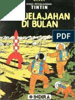 Tintin Penjelajahan di BUlan