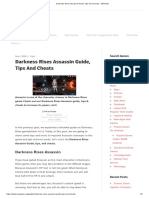 Darkness Rises Assassin Guide, Tips And Cheats - MrGuider