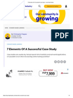 7 Elements of a Successful Case Study_Pappas