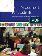 Classroom Assement for Students