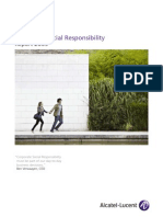 Alcatel-Lucent Corporate Responsibility Report 2009