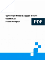 UMTS Service and Radio Access Bearer Feature Description