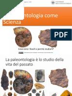 Andrea Baucon, Corso Di Paleontologia - Lezione 1 - La Paleontologia Come Scienza