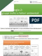 Andrea Baucon, Corso Di Paleontologia - Lezione 5 - Paleoecologia 2 (Gruppi Trofici)
