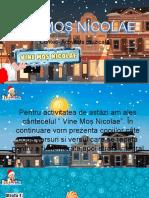 Activitate muzicală- Vine Moș Nicolae