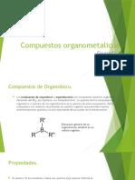 Compuestos organometalicos
