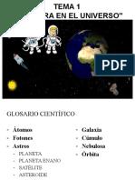 Tema 1. La Tierra en el Universo. 1ºE.S.O.