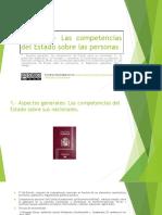 Tema 11. Competencias del Estado sobre las personas