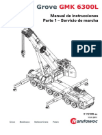Grove GMK Manual de Operacion
