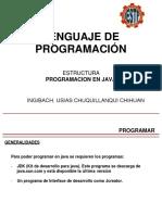 Java CLASE 01 IESTP PAMPAS