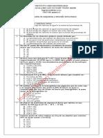 Test de estequiometría 2 - química