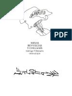 Mesas revueltas y collages, Santiago Villanueva