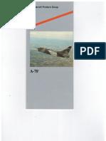 Vought YA-7F Strikefighter Brochure