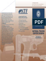 ATF National Tracing Center Division Flyer