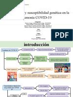 Histopatología y susceptibilidad genética en la neumonía COVID-19