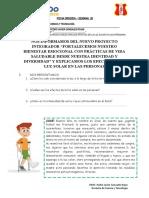 Ficha de Aprendizaje C y T del 17-08-2020