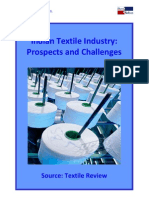 indian textile industry-prospects n challenges