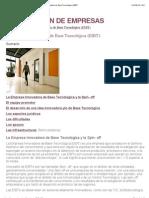 GUIA DE CREACION DE EMPRESAS - La Empresa Innovadora de Base Tecnológica (EIBT)