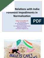 Pak-India Relations June 2020