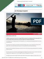 Oil Drillers Threaten Okavango Ecosystem - The Namibian