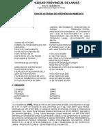 ACTA DE RECEPCION DE ACTIVIAD TRABAJA PERU 2