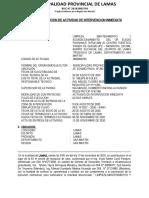 ACTA DE RECEPCION DE ACTIVIAD TRABAJA PERU 1