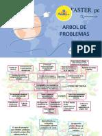 ARBOL DE PROBLEMAS - CURSO ESTRUCTURA DE DISEÑO