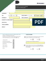 Applicants ELP Registration Form