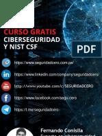 Clase 2 Conociendo NIST CSF