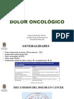 Dolor oncológico