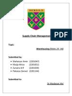 SCM Final Project Report