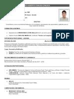 Curriculum Vitae - Chauca Chauca Luis Alberto